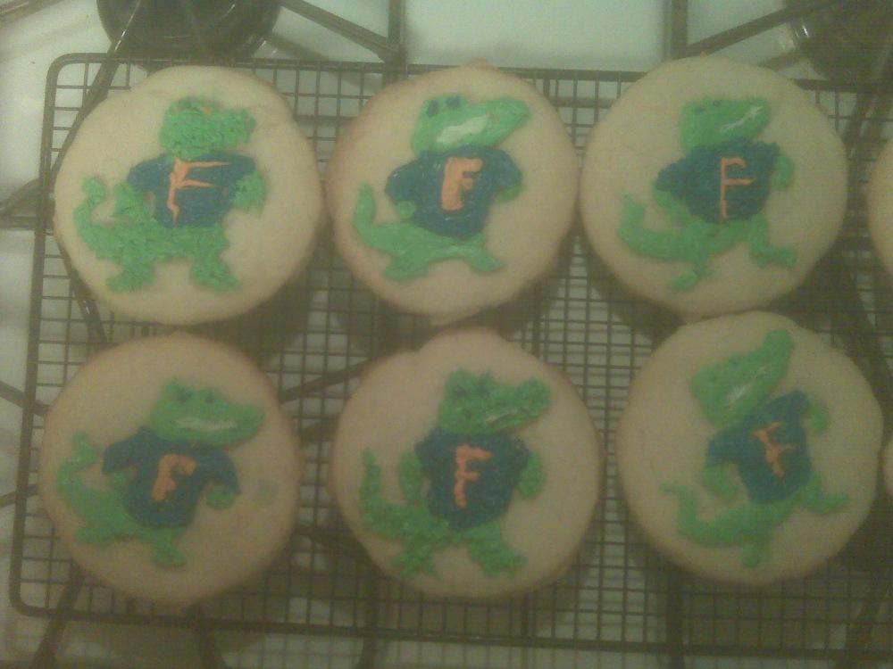 Gator Cookies (2/2)