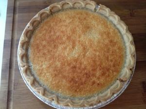 Memaw's Coconut Pie